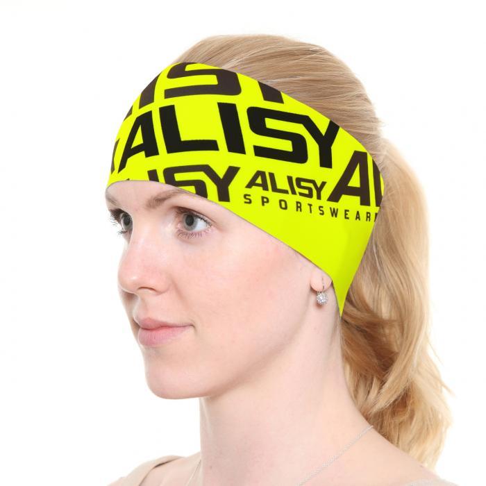 Čelenka Alisy Alleasy yellow fluo