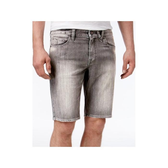 Kraťasy Volcom Solver Denim Short Grey Vintage