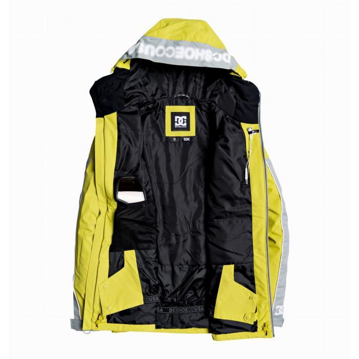 Zimní bunda DC RETROSPECT Jkt WARM OLIVE