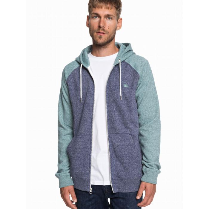 Mikina Quiksilver EVERYDAY ZIP MEDIEVAL BLUE STORMY SEA HTH