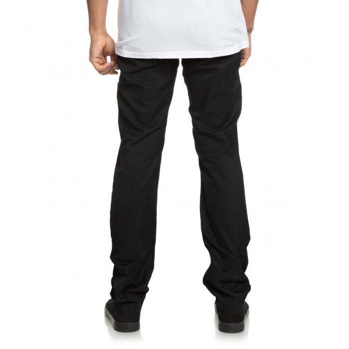 Kalhoty DC WORKER STRAIGHT BLACK