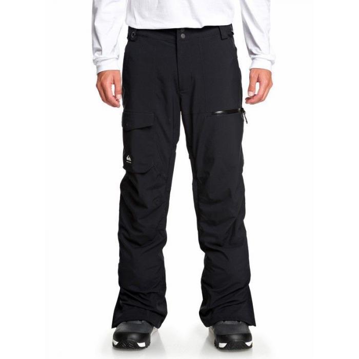 Snowboardové kalhoty Quiksilver UTILITY PT BLACK