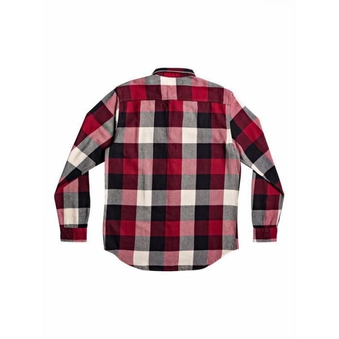 Košile Quiksilver MOTHERFLY FLANNEL GARNET MOTHERFLY