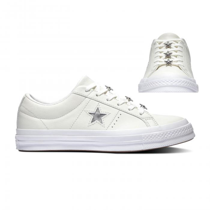 Boty Converse ONE STAR STARWARE VINTAGE WHITE/METALLIC GRANITE
