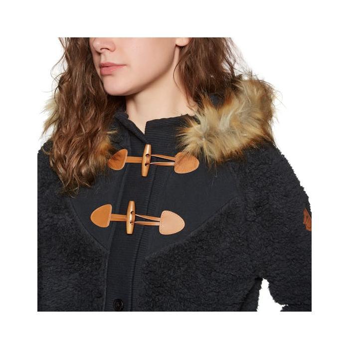 Zimní bunda Roxy IN THE LIGHT ANTHRACITE