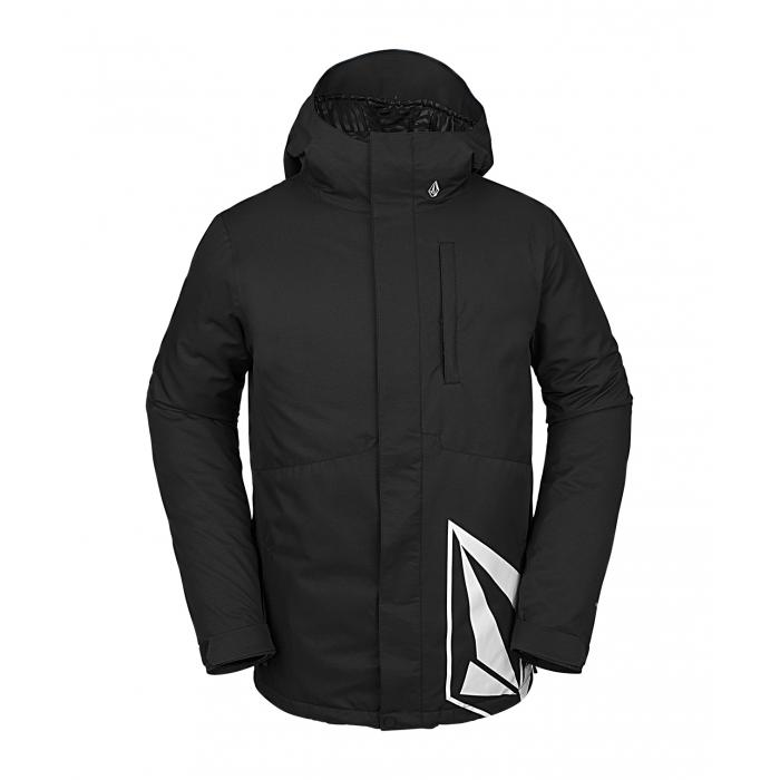 Zimní bunda Volcom 17Forty Ins Jacket Black