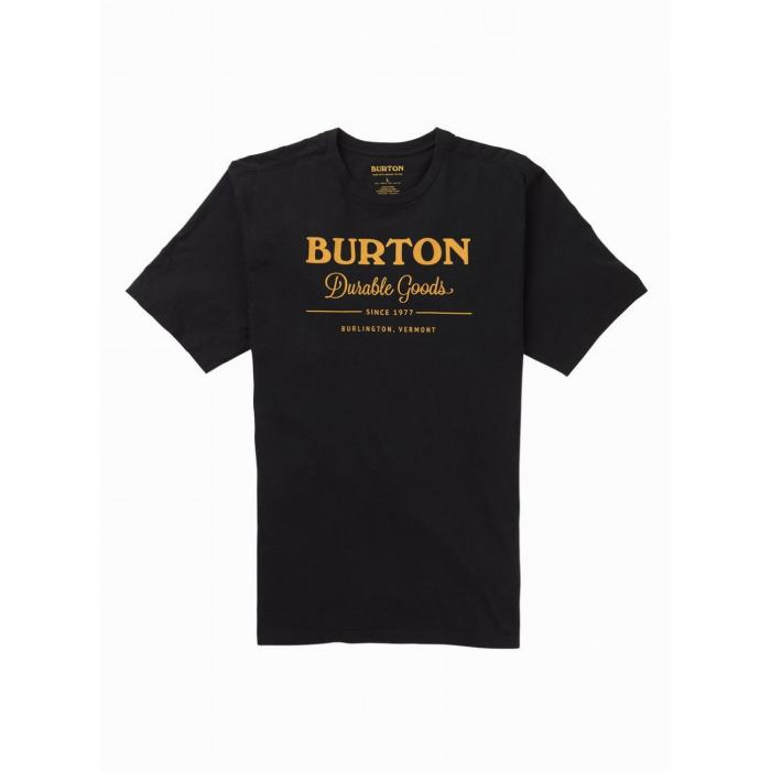 Tričko Burton DURABLE GOODS SS TRUE BLACK