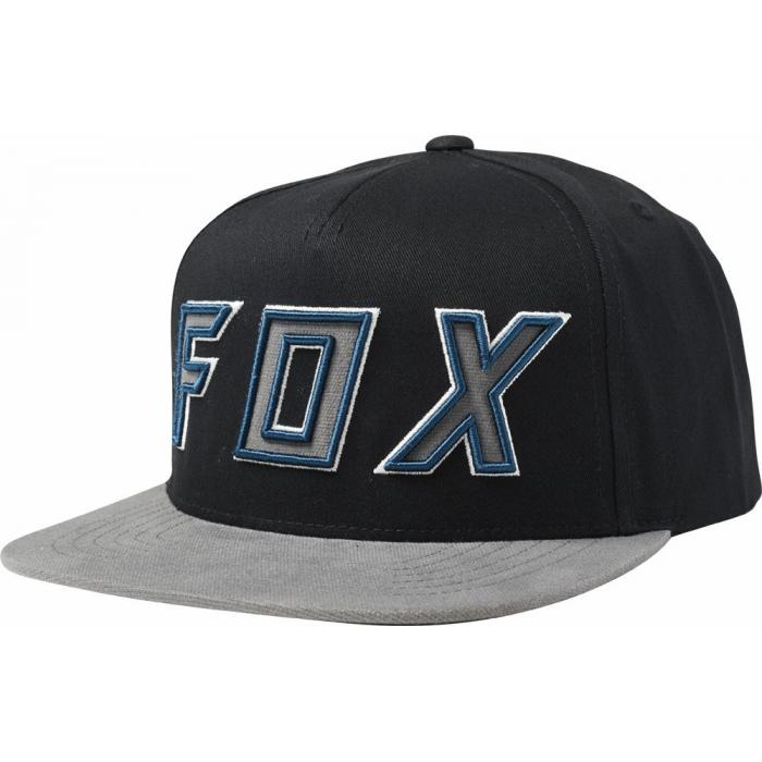Kšiltovka Fox Posessed Snapback Hat Black/Grey