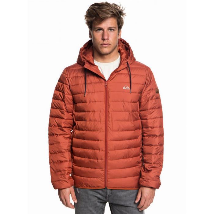Zimní bunda Quiksilver SCALY BARN RED
