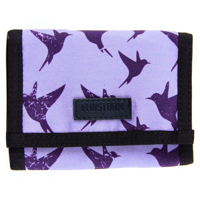 Peněženka Funstorm FLY violet
