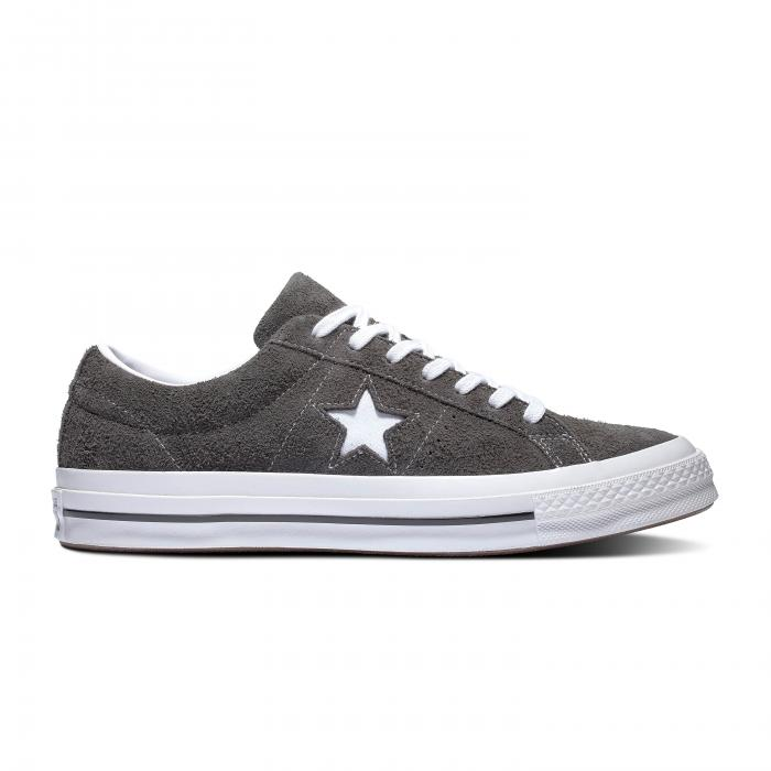 Boty Converse ONE STAR VINTAGE SUEDE CARBON GREY/WHITE/BLACK