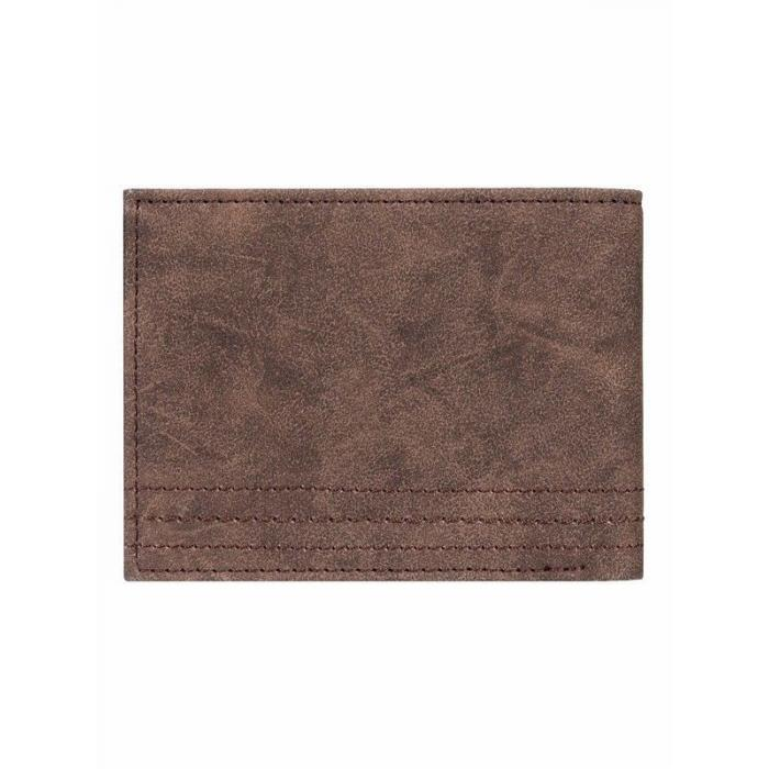 Peněženka Quiksilver STITCHY WALLET VI CHOCOLATE BROWN