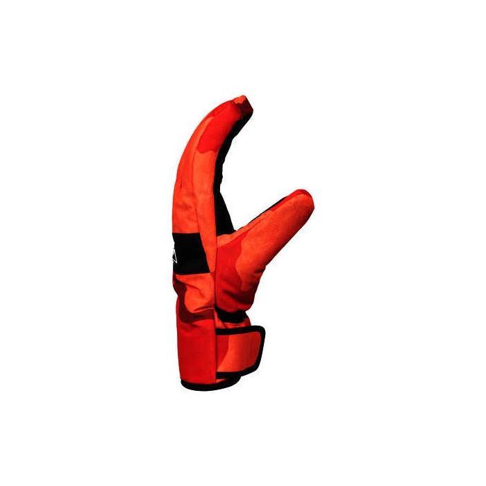 Rukavice DC FRANCHISE Glove RED ORANGE DCU CAMO MEN