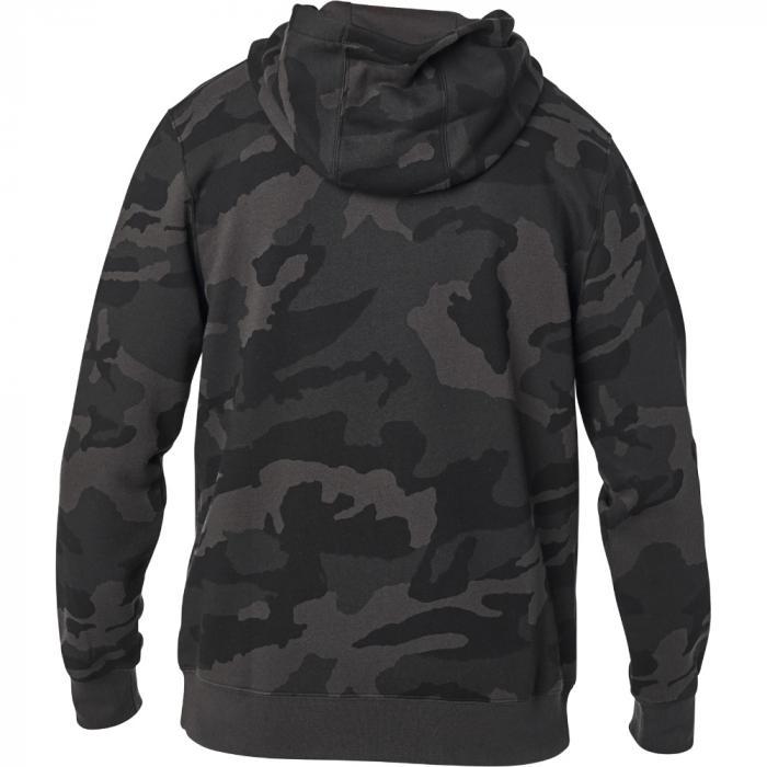 Mikina Fox Apex Camo Zip Fleece Black Camor