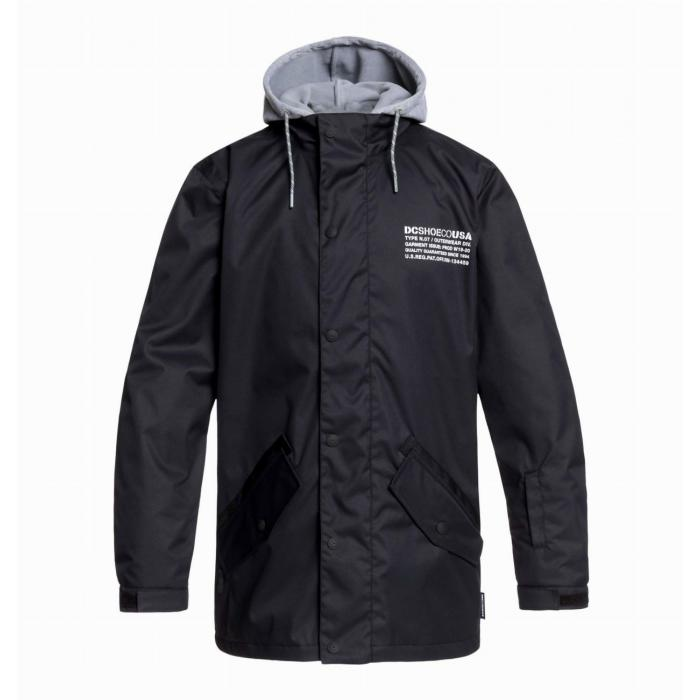 Zimní bunda DC UNION Jkt BLACK