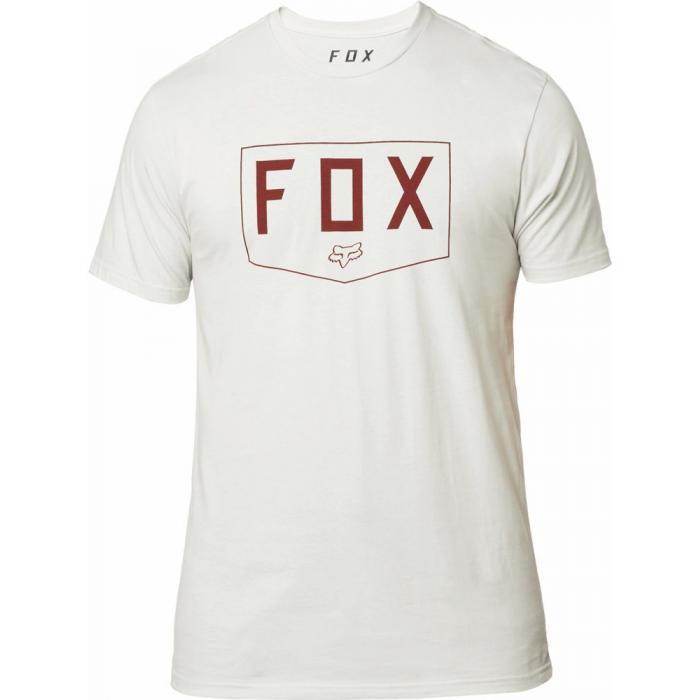Tričko Fox Shield Ss  Premium Tee Light Grey