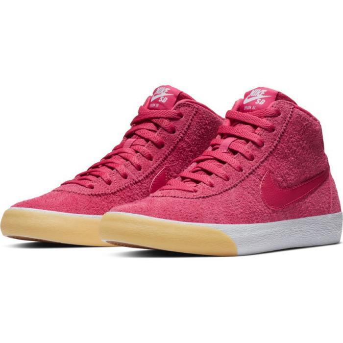 Boty Nike SB BRUIN HI rush pink/rush pink-gum yellow-white