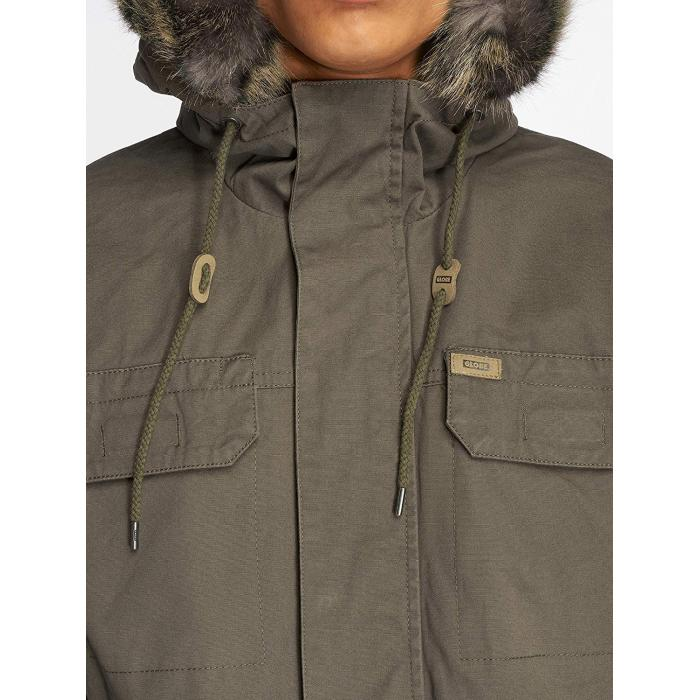 Zimní bunda Globe Goodstock Thermal Parka Jacket Dusty Blue