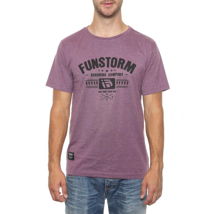 Tričko Funstorm Tontre violet