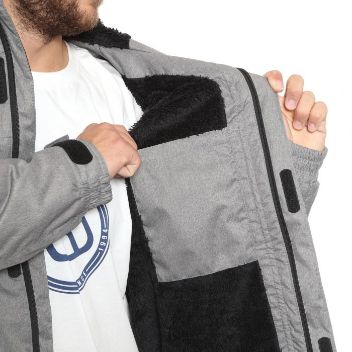 Zimní bunda Funstorm Kator grey