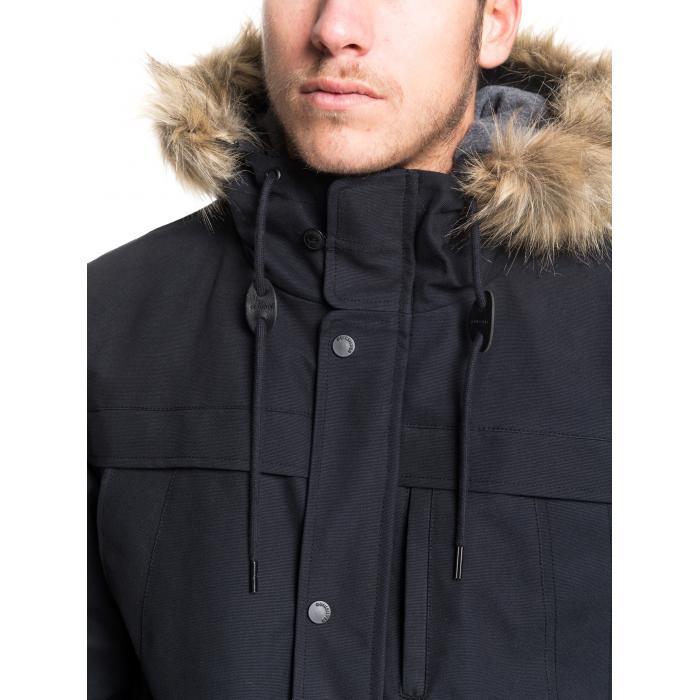 Zimní bunda Quiksilver STORM DROP 5K BLACK