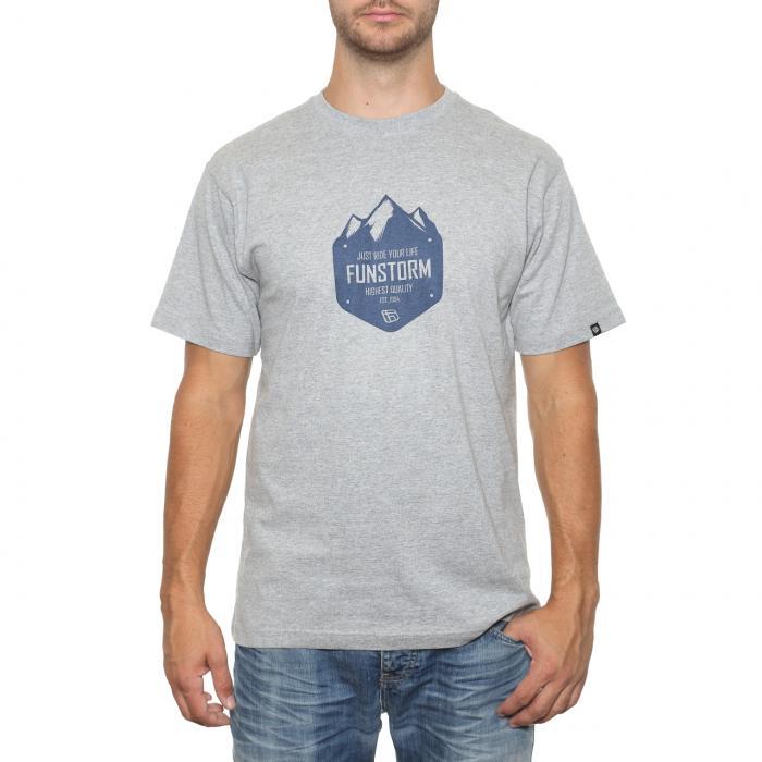 Tričko Funstorm Peaks grey