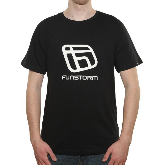 Tričko Funstorm I.d. black