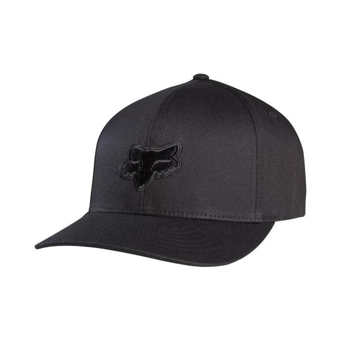 Kšiltovka Fox Legacy flexfit HAT black/black