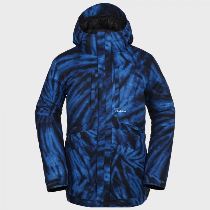 Zimní bunda Volcom Fifty Fifty Ins Jkt Blue Tie-Dye