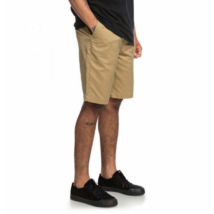 Kraťasy DC WORKER STRAIGHT 20.5 KHAKI