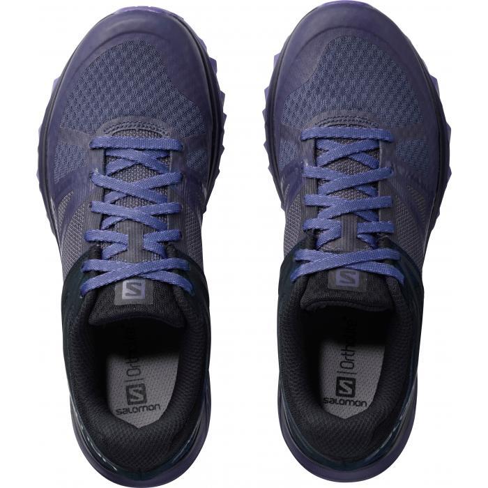 Běžecké boty Salomon TRAILSTER W Crown Blue/Navy Blazer/Purple Opulence