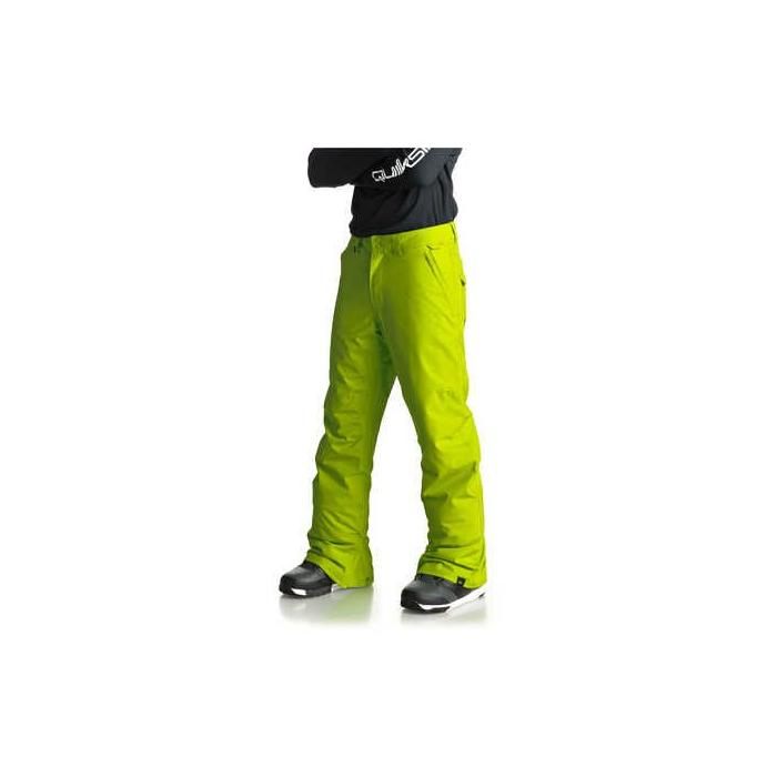 Snowboardové kalhoty Quiksilver ESTATE PANT LIME GREEN