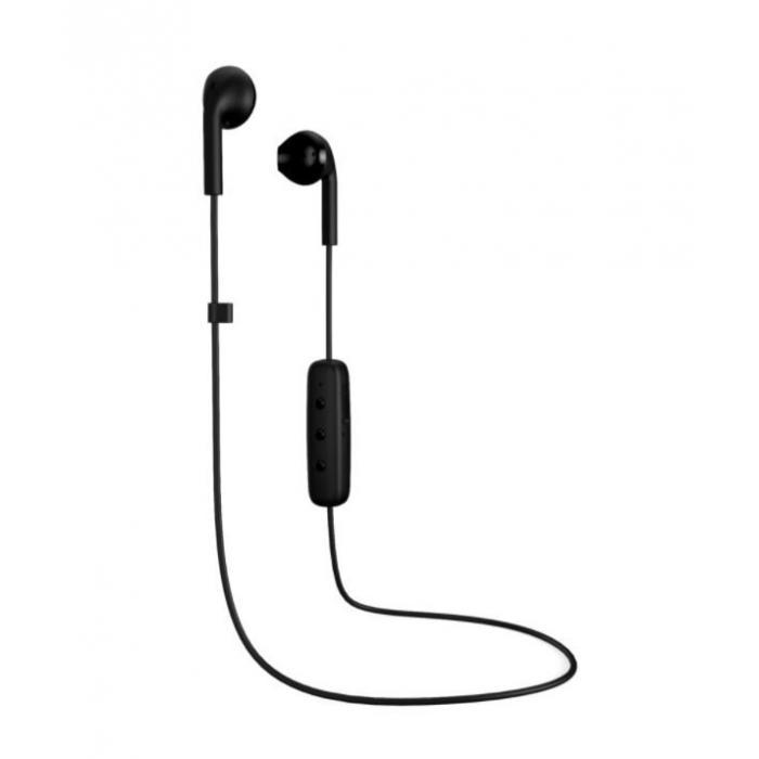 Sluchátka Happy Plugs Earbud Plus Wireless Black