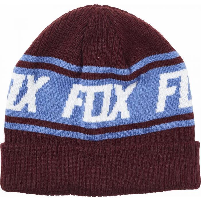 Čepice Fox Wild And Free Beanie Cranberry