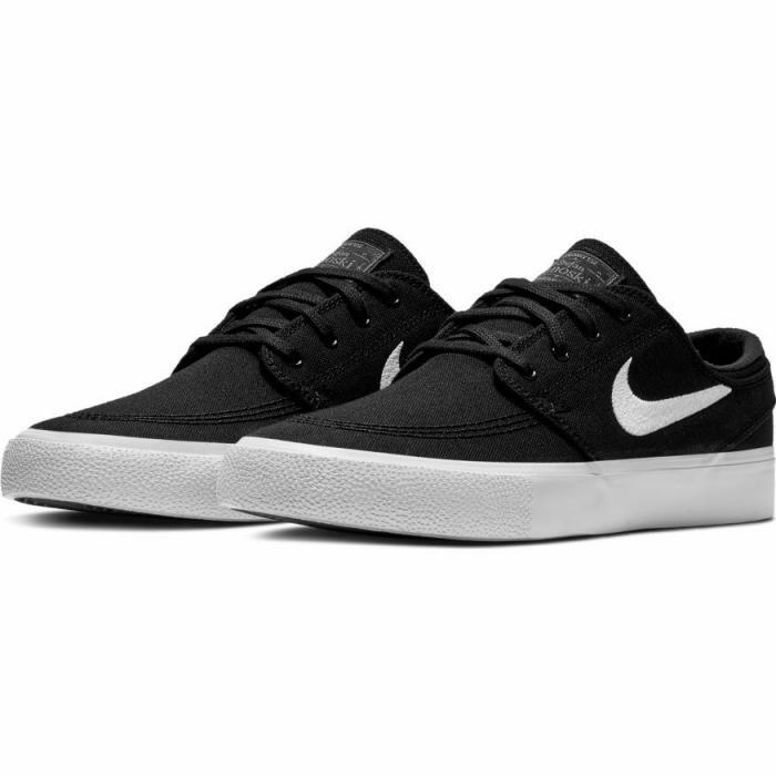 Boty Nike SB ZOOM JANOSKI CNVS RM black/white-thunder grey-gum light brown