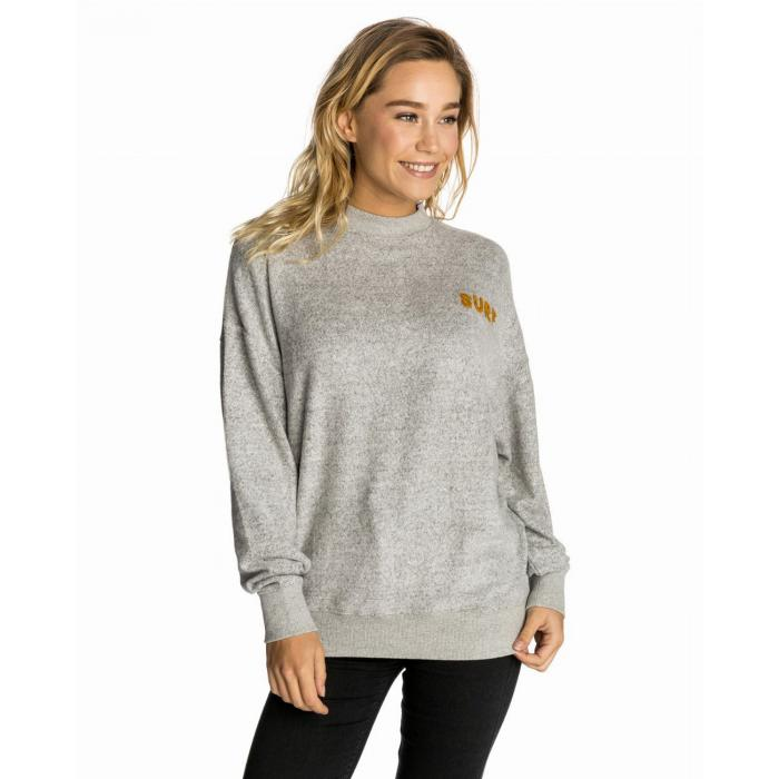 Mikina Rip Curl SUNDAY SUN CREW FLEECE  CEMENT MARLE