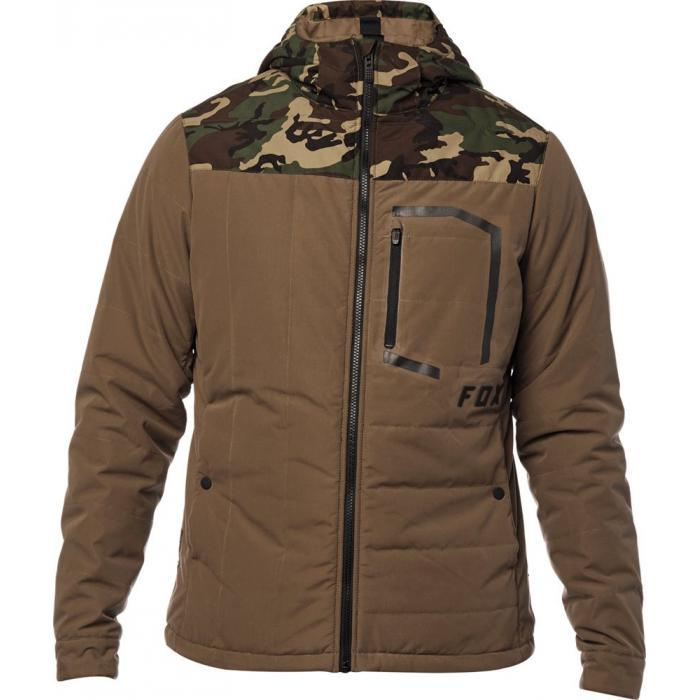 Zimní bunda Fox Podium Jacket Bark