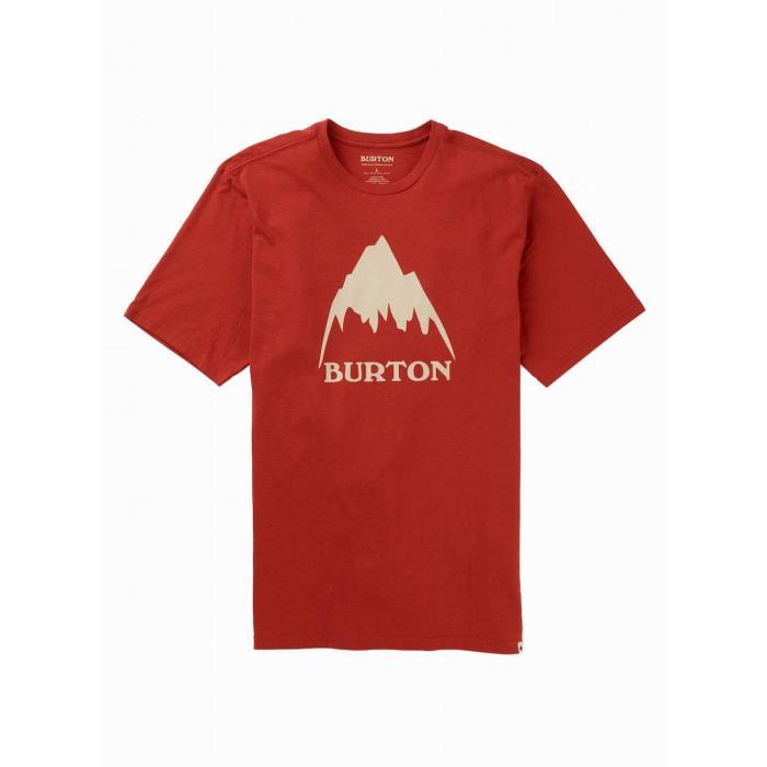Tričko Burton CLASSIC MTN HGH SS TANDORI