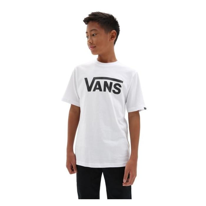 Tričko Vans Classic boys white/black