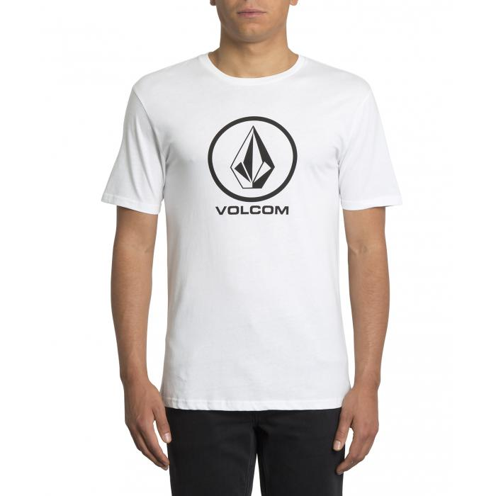 Tričko Volcom Crisp Stone Bsc Ss White