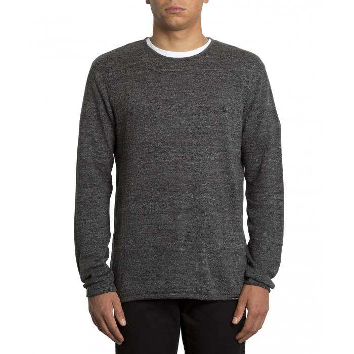 Pánský svetr Volcom Uperstand Sweater  Heather Grey