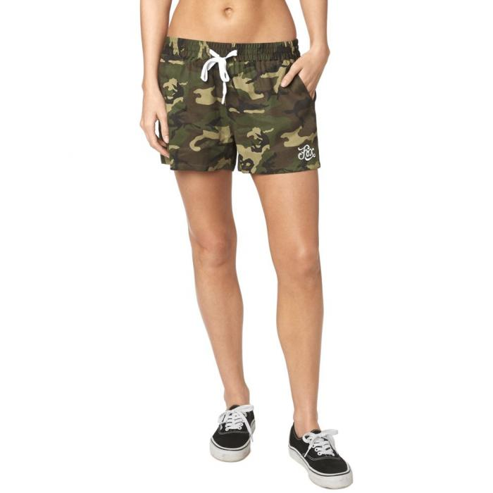Kraťasy Fox Summer Camp Print Short Camo