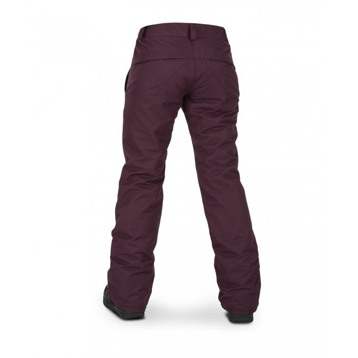Snowboardové kalhoty Volcom Frochickie Ins Pant Merlot