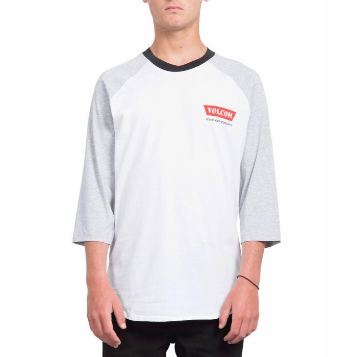 Tričko Volcom Cresticle 3/4 White