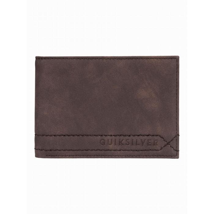 Peněženka Quiksilver STITCHY WALLET V CHOCOLATE BROWN