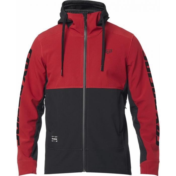Bunda Fox Pit Jacket Cardinal