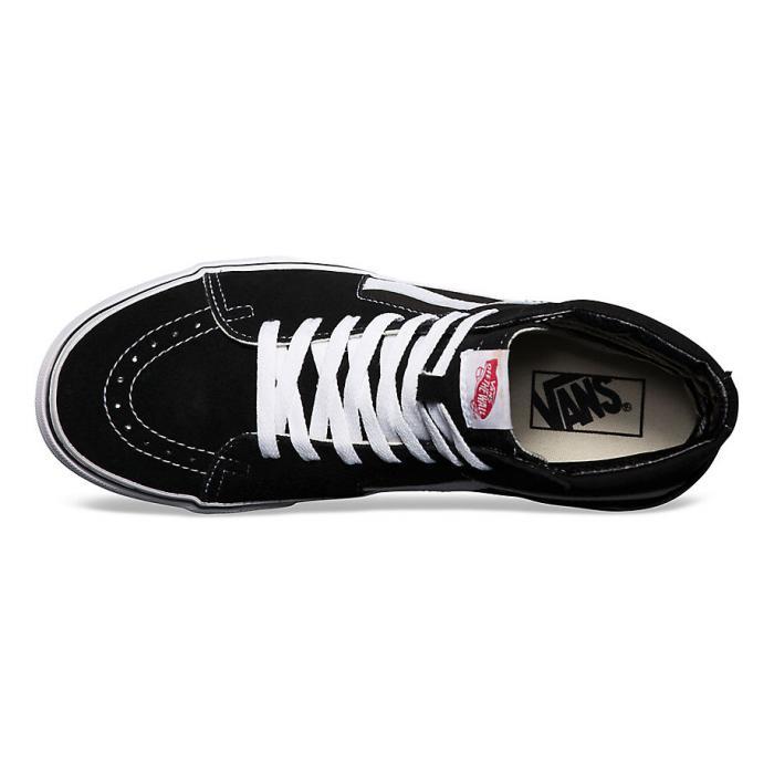 Boty Vans Sk8-hi black/black/white