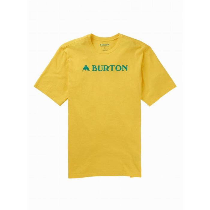 Tričko Burton HORIZONTAL MTN SS MAIZE