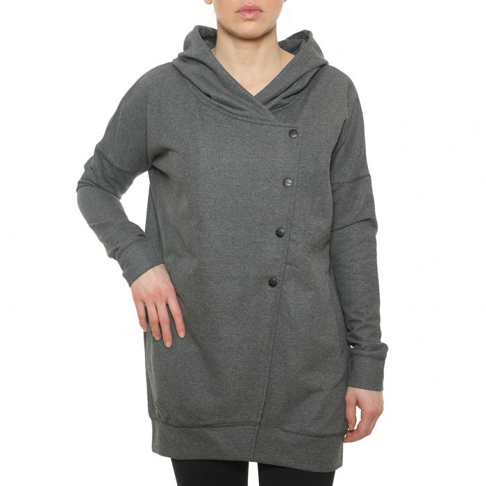 Mikina Funstorm Bechun dark grey