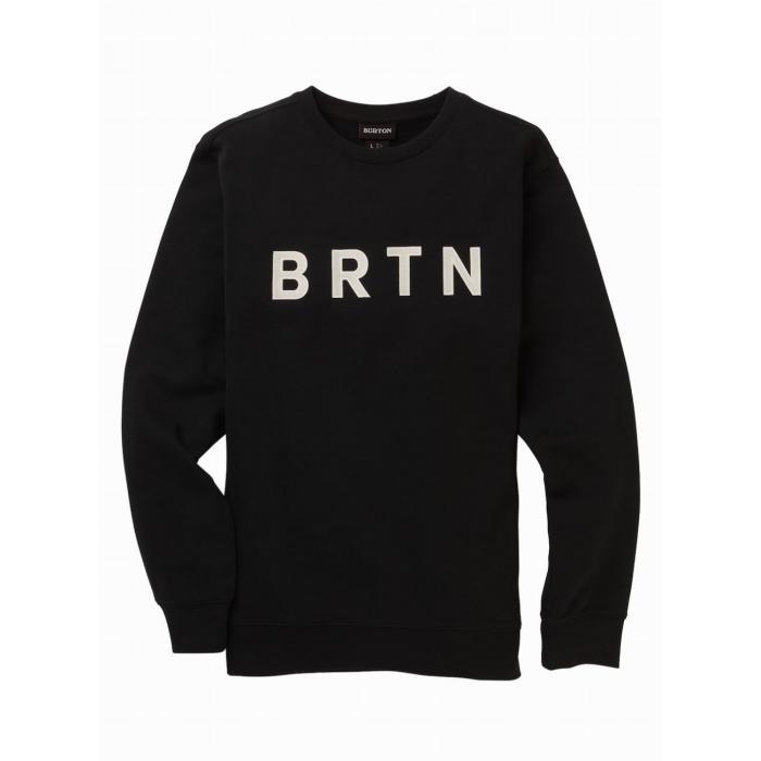 Mikina Burton BRTN CREW TRUE BLACK